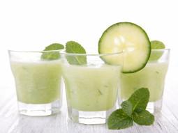 Agua fresca z ogórkiem