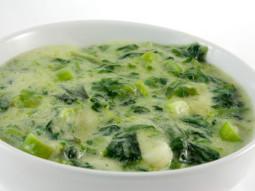 Zupa szpinakowo-ziemniaczana