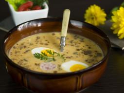 Zupa chrzanowo-cytrynowa