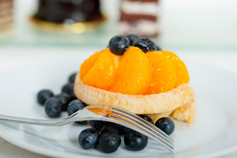Tartaletki z kremem budyniowym i mandarynkami