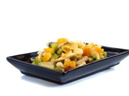 Owocowa sałatka z kiwi i ananasem