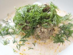 Pulpety wieprzowe w sosie koperkowym