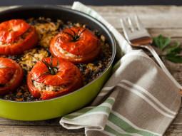Pomidory faszerowane jagnięciną`