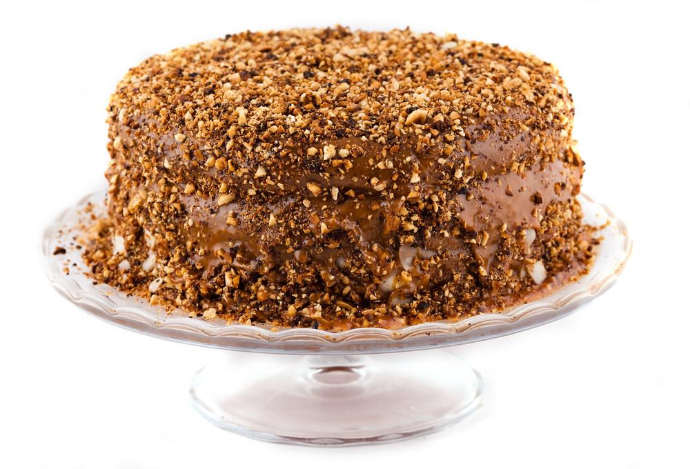 Tort owocowo-orzechowy