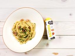 Kremowe spaghetti Carbonara
