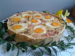 Tarta z jajkami