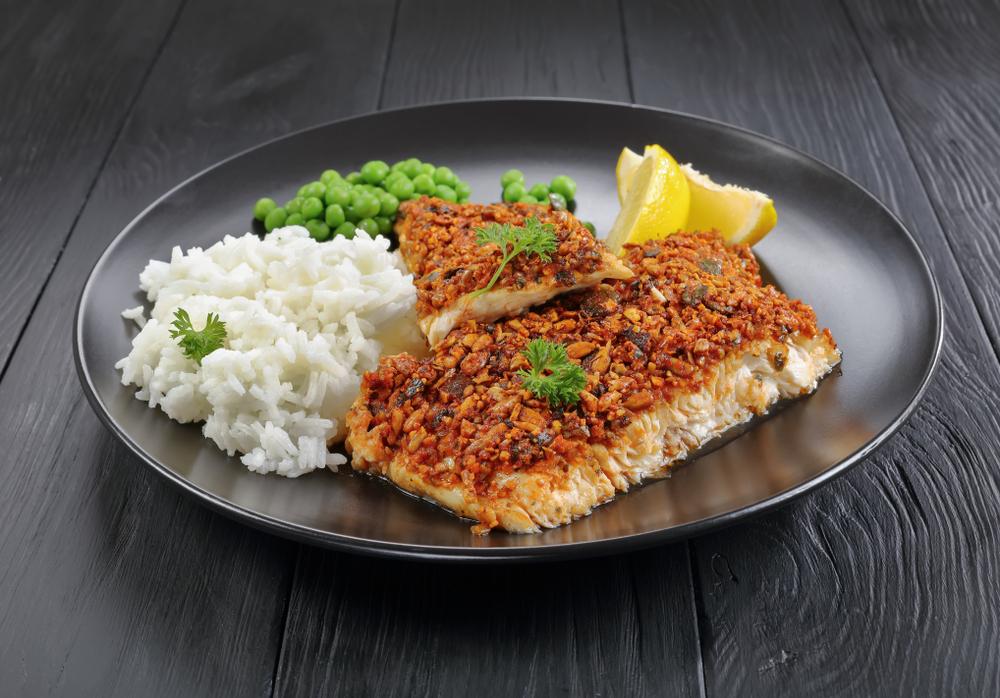 Ryba w fit panierce